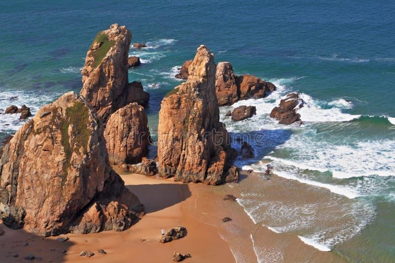 Il capo Cabo da Roca immagine stock