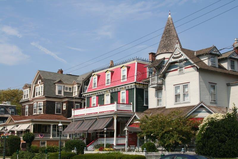 Il capo può stazione turistica del New Jersey S.U.A. immagini stock