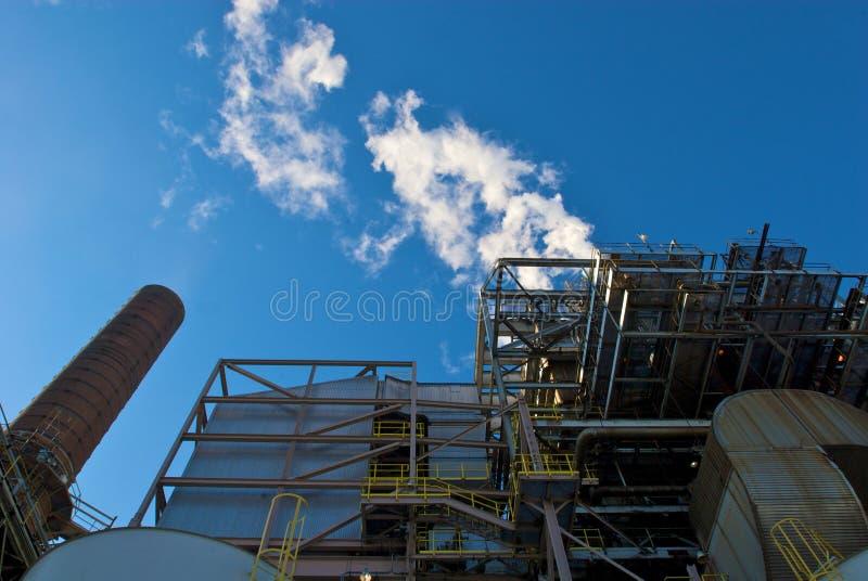 Il carbone ha infornato la centrale elettrica immagine stock libera da diritti
