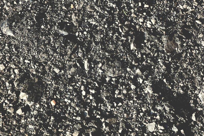 il carbone lapida il fondo nero-grigio di struttura di colore immagine stock