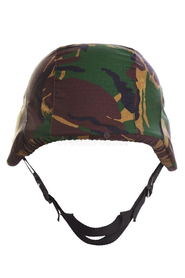 Il casco di kevlar del camuffamento ha tagliato fotografie stock libere da diritti