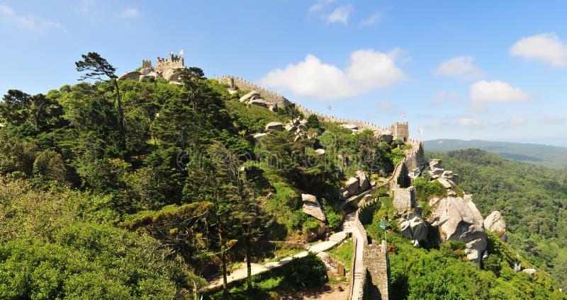 Il castello del attracca fotografie stock libere da diritti