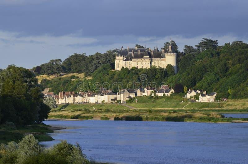 Il castello del sur la Loira di Chaumont immagine stock