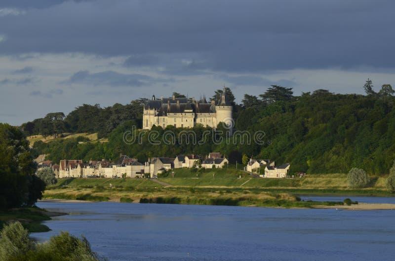 Il castello del sur la Loira di Chaumont immagine stock libera da diritti