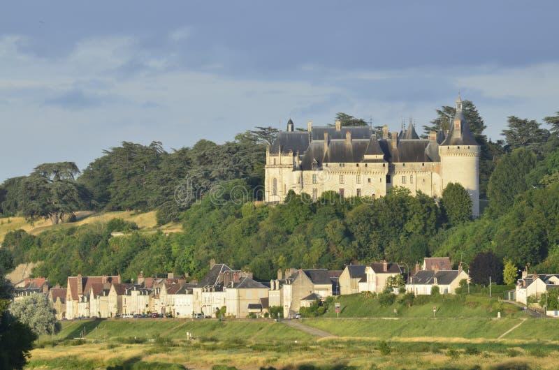 Il castello del sur la Loira di Chaumont fotografie stock libere da diritti