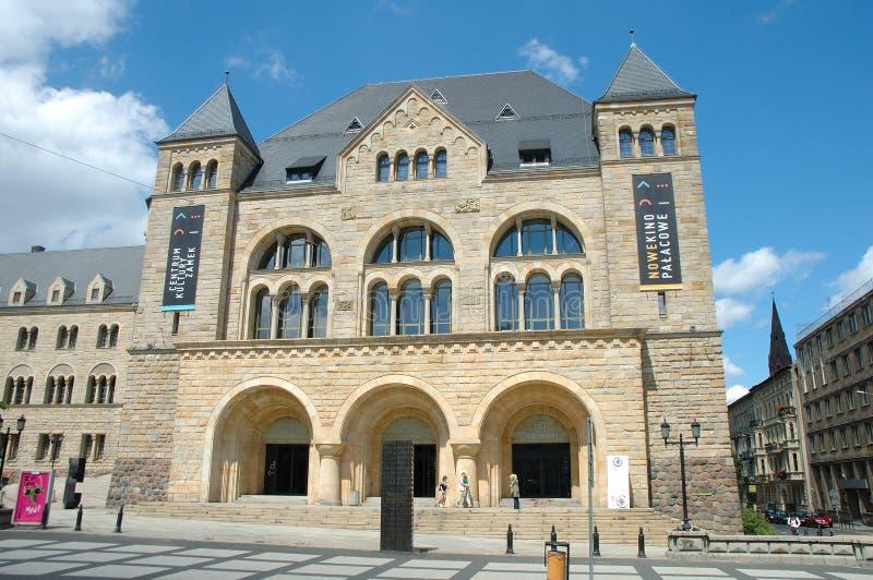 Il castello dell'imperatore a Poznan, Polonia immagine stock libera da diritti