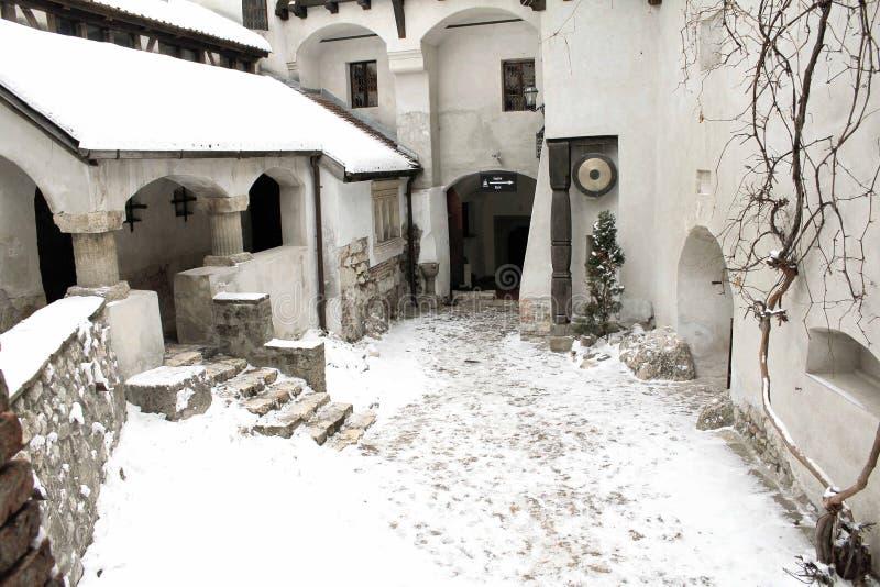 Il castello della crusca - cortile immagine stock libera da diritti