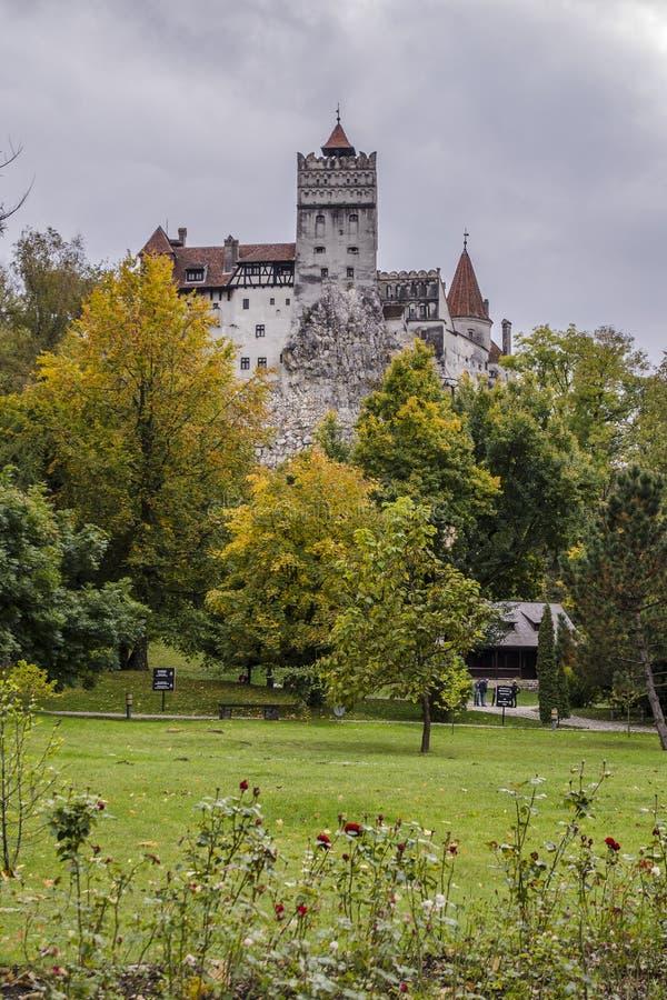 Il castello della crusca, Romania fotografia stock libera da diritti