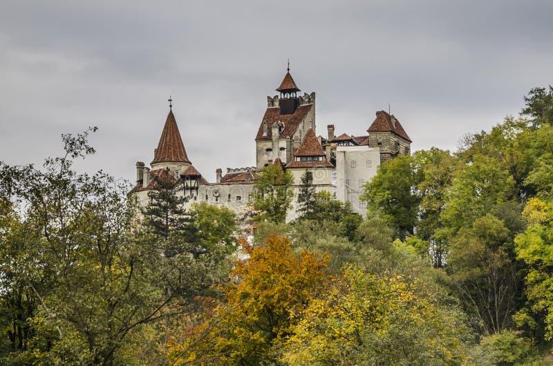 Il castello della crusca, Romania fotografie stock