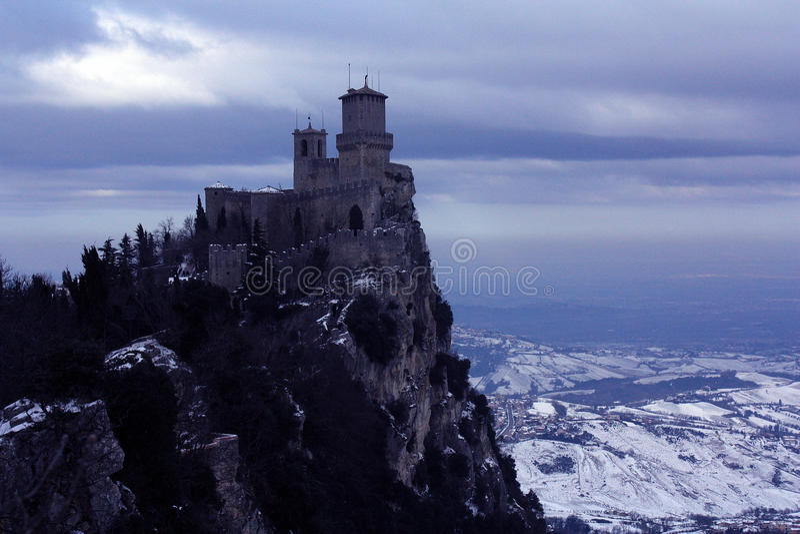 Il castello delle streghe fotografia stock libera da diritti