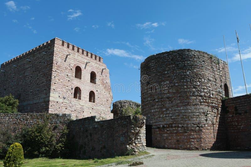 Il castello di Eskihisar in Gebze. fotografia stock