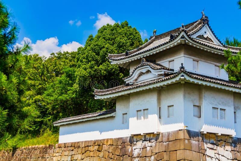 Il castello di Nijo immagine stock