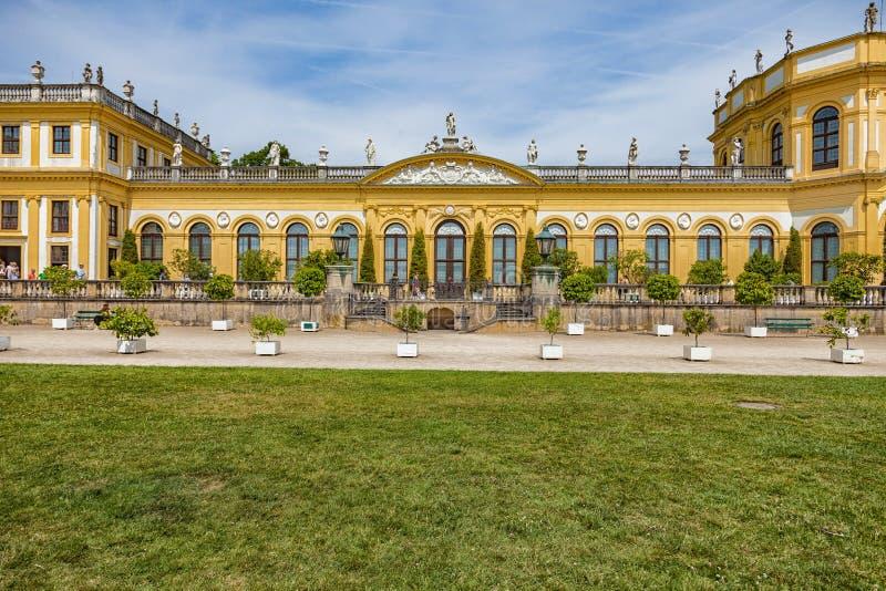 Il castello di Orangerie a Cassel immagini stock