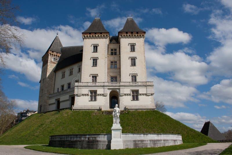 Il castello di Pau immagine stock