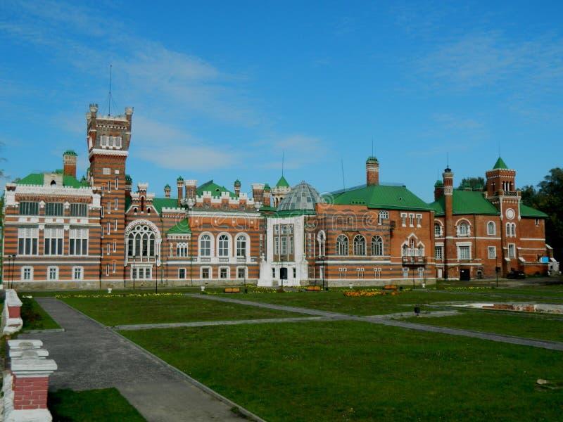 Il castello di Sheremetyev fotografie stock libere da diritti