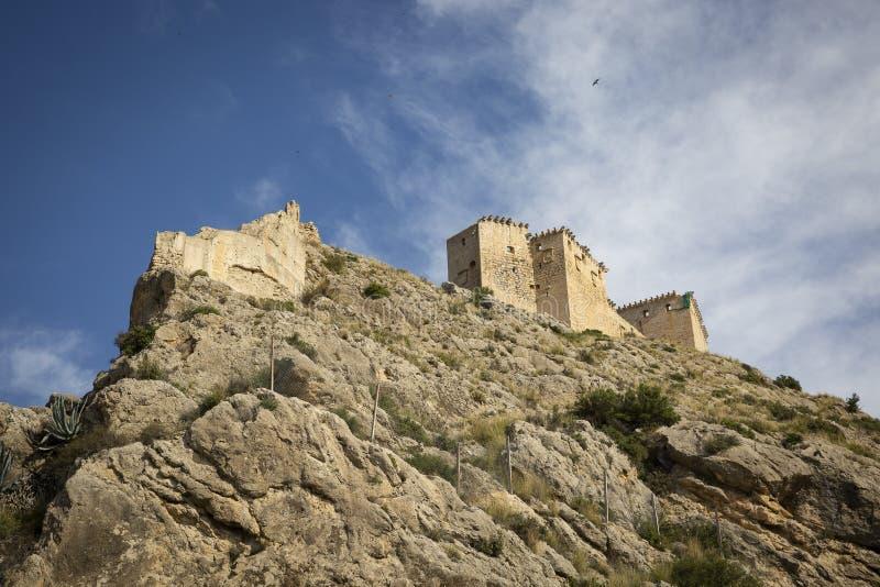 Il castello medievale della città di Mula immagini stock libere da diritti