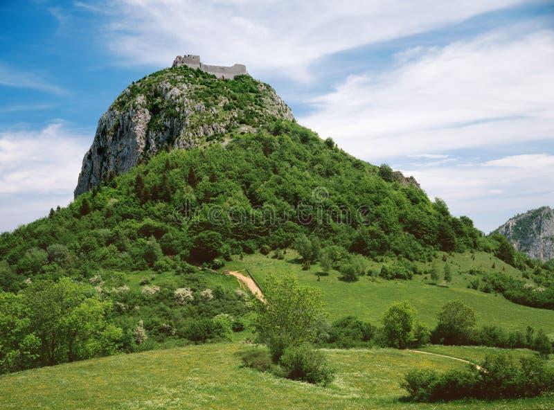 Il castello Monsegur immagine stock libera da diritti