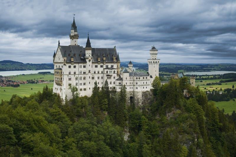 Il castello Neuschwanstein fotografia stock