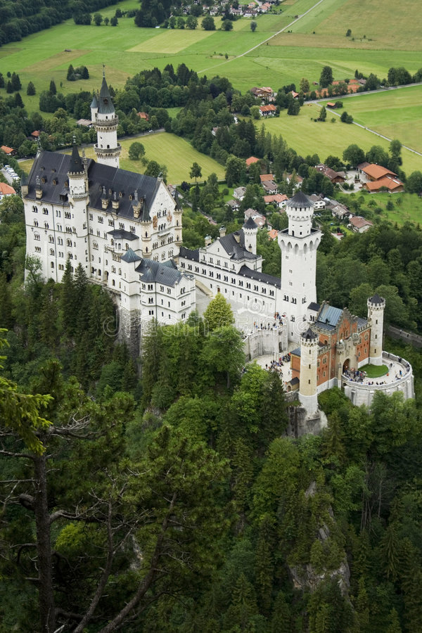 Il castello Neuschwanstein immagini stock