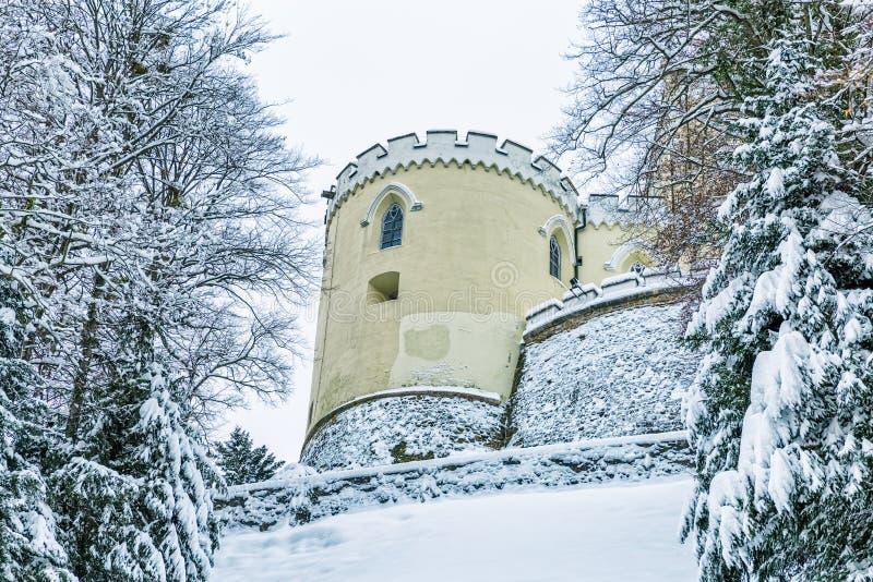 Il castello Trakoscan, Croazia fotografia stock libera da diritti