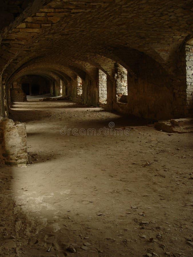 Il catacomb fotografia stock