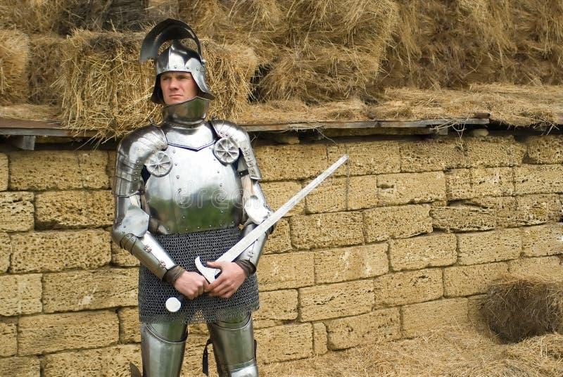 Il cavaliere fotografia stock libera da diritti