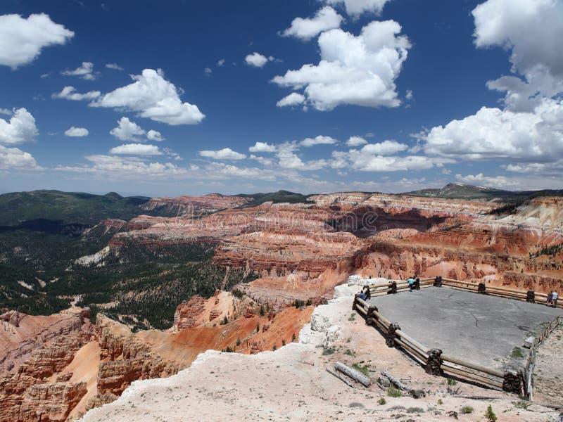 Il cedro rompe il monumento nazionale fotografia stock libera da diritti