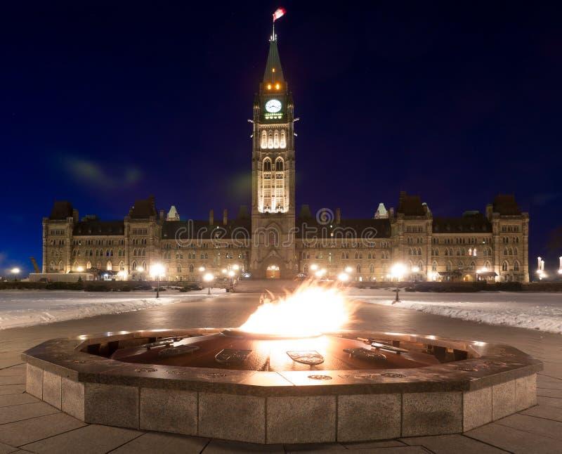 Il Centennial fiammeggia Ottawa, Ontario, Canada fotografie stock