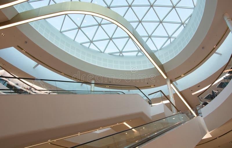 Il centro commerciale fotografie stock libere da diritti