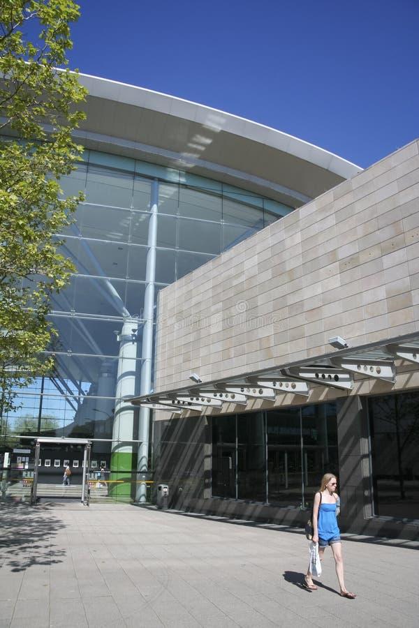 Il centro commerciale del centro Mk Milton Keynes fotografia stock libera da diritti