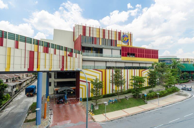 Il centro commerciale di svago di Cheras ? domestico ad una miscela vibrante di vendita al dettaglio, lo svago, spettacolo e sboc fotografia stock