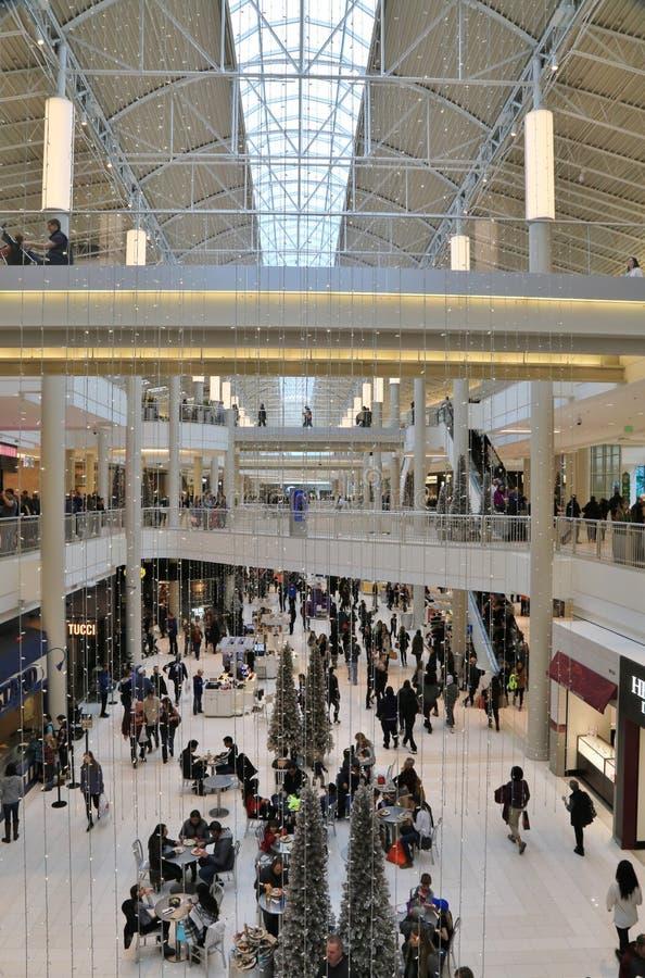 Il centro commerciale iconico dell'America, Bloomington, Minnesota, U.S.A. fotografie stock