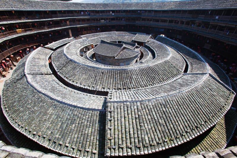 Il centro della terra di Hakka che costruisce 2 fotografia stock libera da diritti