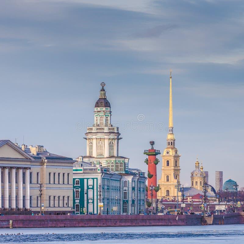 Il centro di San Pietroburgo, Russia fotografia stock libera da diritti