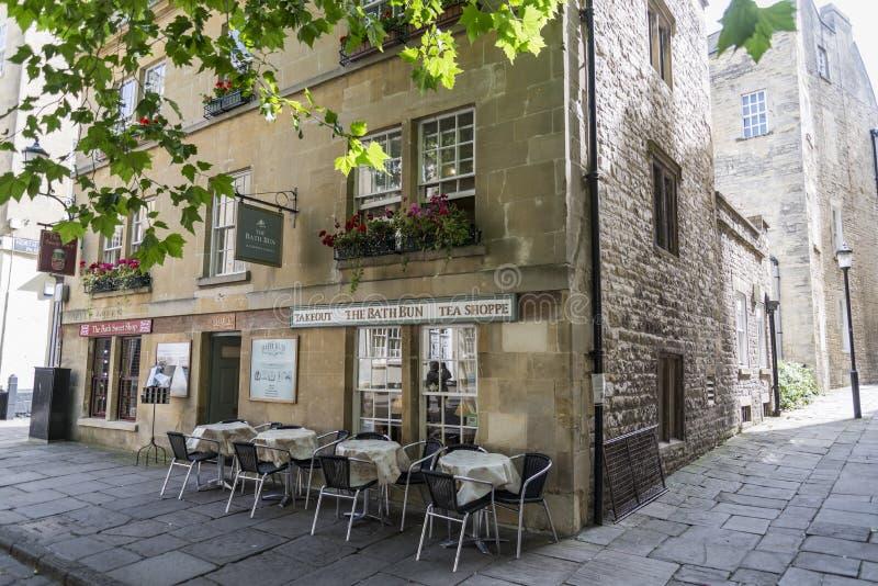 Il centro storico del bagno fotografia stock