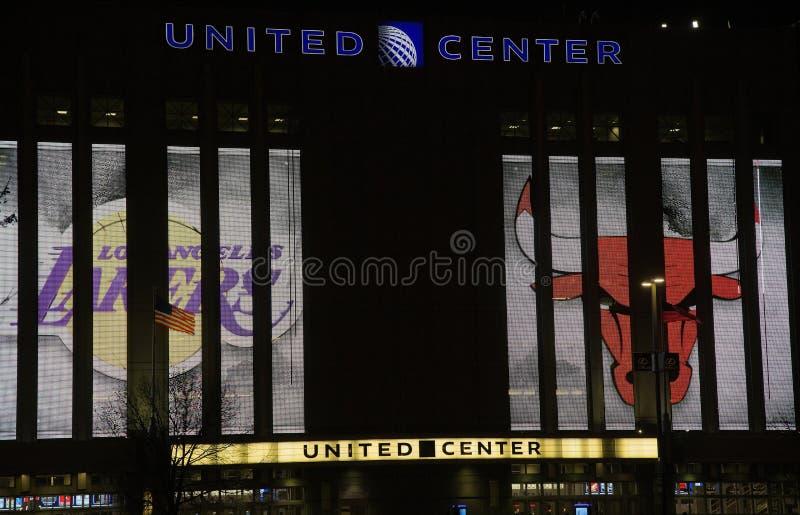 Il centro unito in Chicago, Illinois immagini stock libere da diritti