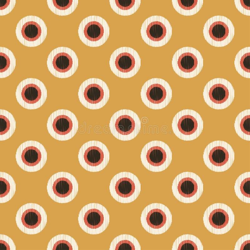 Download Il Cerchio Senza Cuciture Punteggia Il Modello Strutturato Illustrazione Vettoriale - Illustrazione di contesto, illustrazione: 56877953