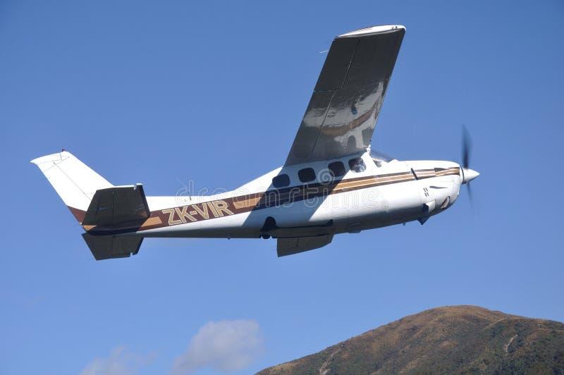 Il Cessna 210 immagini stock