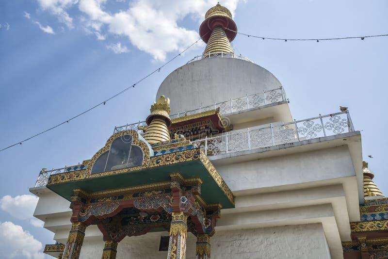 Il Chorten commemorativo nazionale, Thimphu, Bhutan fotografie stock libere da diritti