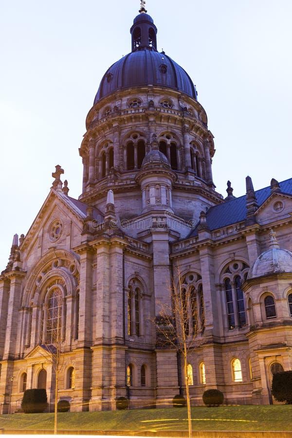 Il Christuskirche a Mainz in Germania immagini stock libere da diritti