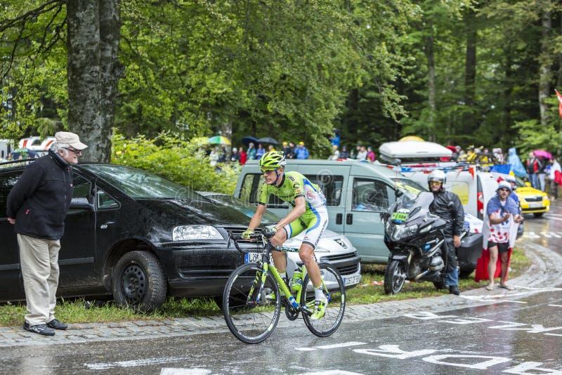 Il ciclista Alessandro De Marchi immagini stock