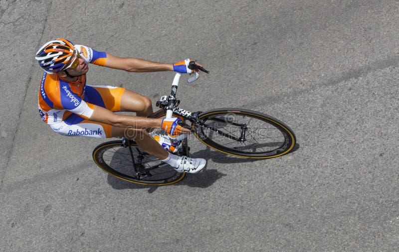 Il Ciclista Belga Wynants Maarten Fotografia Editoriale