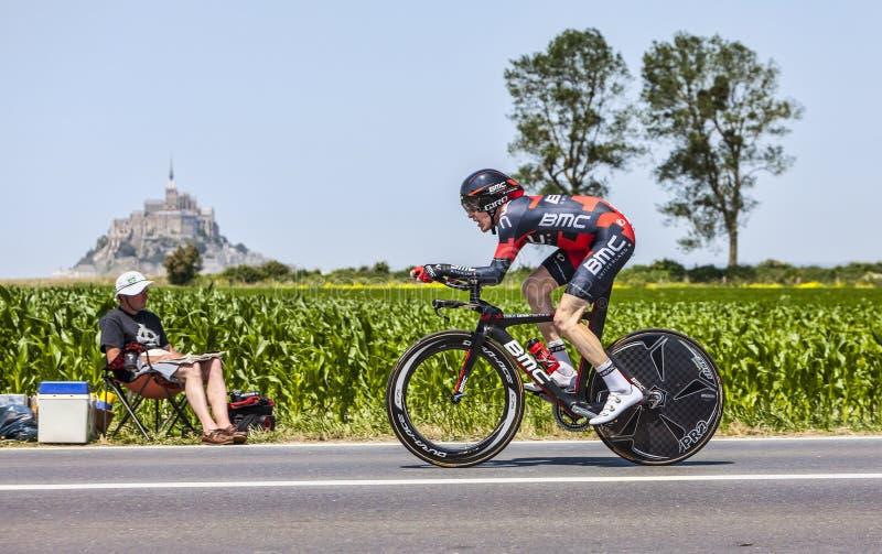 Il Ciclista Brent Bookwalter Immagine Editoriale