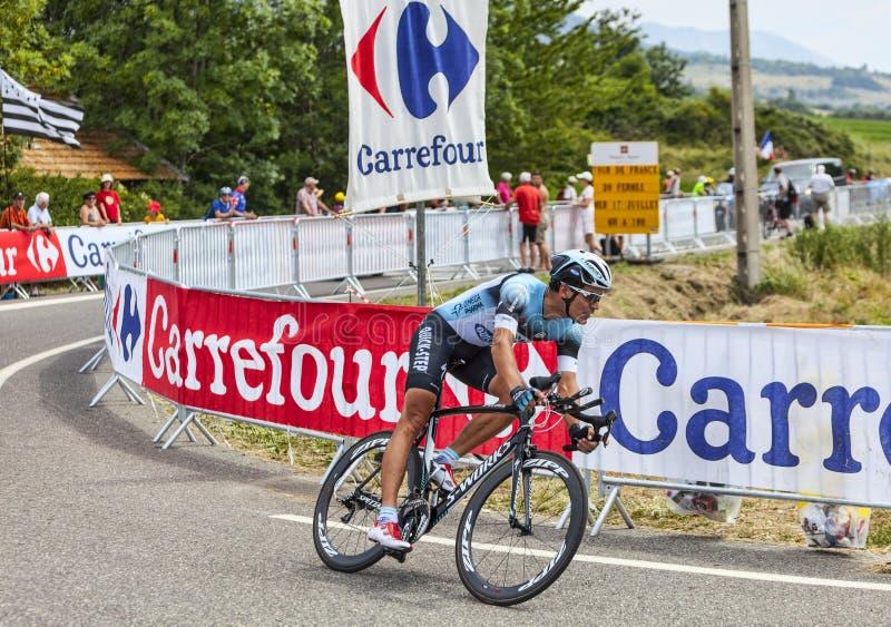 Il ciclista Gert Steegmans fotografia stock libera da diritti