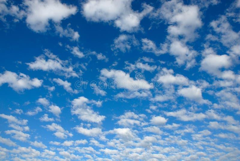 Il cielo blu immagine stock