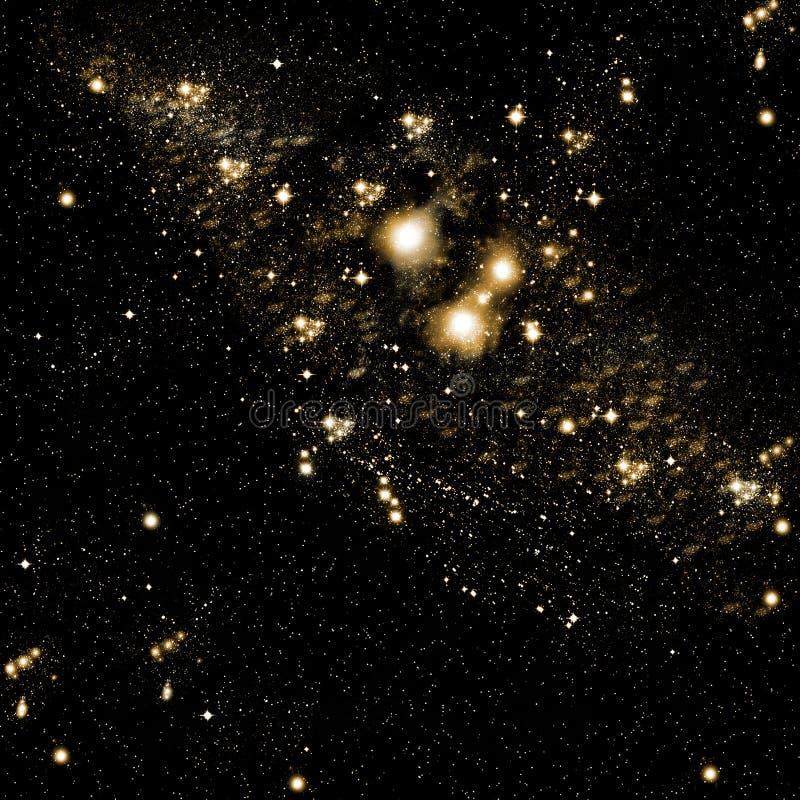 Il cielo delle stelle fotografia stock
