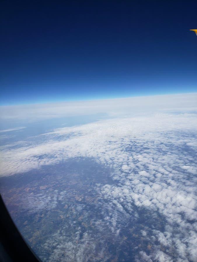Il cielo ? il limite fotografia stock