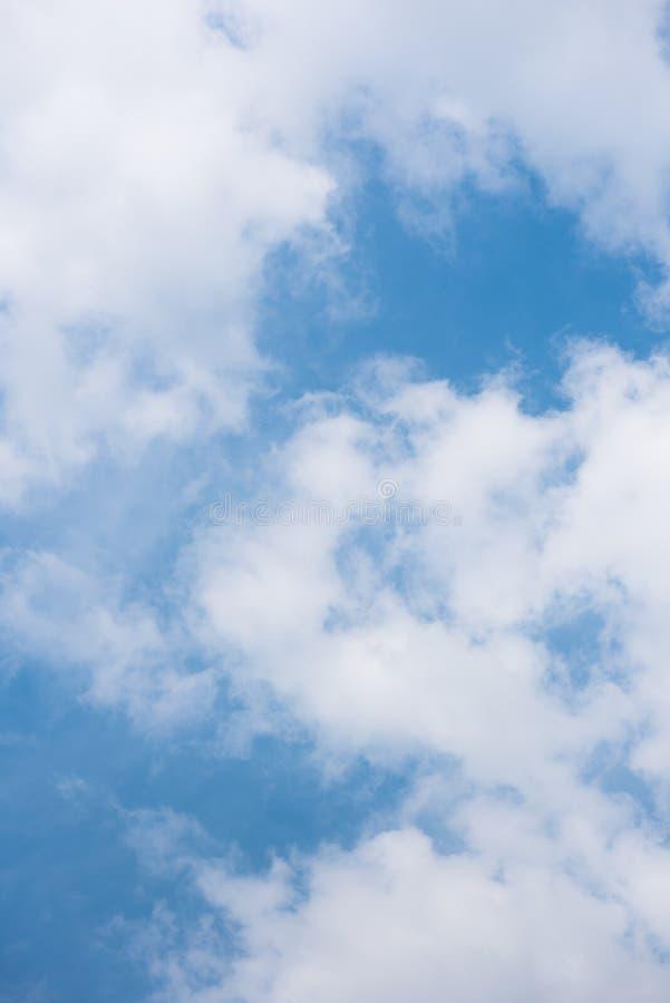 Il cielo nel pomeriggio immagine stock