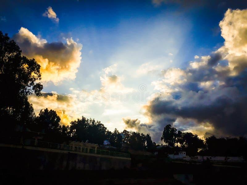 Il cielo sta sognando fotografia stock libera da diritti