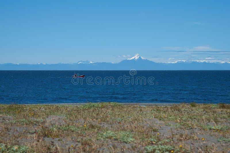 Il Cile costiero fotografia stock